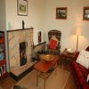 donegal cottage rental living room